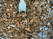Kentucky Whiskey Barrel Hoard - 1 Pound Bags - 1909-1939 Wheats With Steel Cents