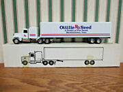 Ottilie Seed Ford Semi With Van Trailer By Ertl 1/64th Scale