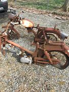 1966 Harley Davidson M50 Aermacchi Motor Clutch And 2 Frames For Parts