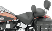 Mustang Wide Vintage Recessed Rear Seat Harley Softail Heritage Classic/deluxe