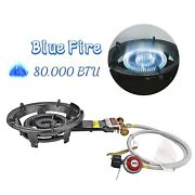 Portable Propane Gas Burner Cooker Stove Cast Iron Outdoor Camping Burner Stove