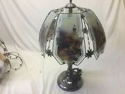 Lighthouse Scene Touch Lamp 24 Inch
