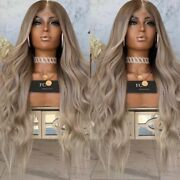 Ombre Dirty Blonde Full Lace Human Hair Wig Freedom Couture