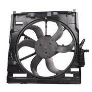 For Bmw X5 E70 2007-2010 Radiator Electric Cooling Fan Assembly 17427537357