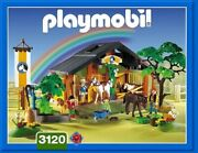 Playmobil Horse And Pony Ranch 3120 Complete Set With Instructions.