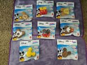 New Set Of 8 Disney Kawaii Squeezies Mickey Mouse Squishies Series 1 Minnie