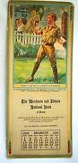 Brown And Bigelow Boy Scout Motto 3 -1925 Add. Calendar Il National Bank Peoria