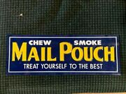 Metal Mail Pouch Tobacco Sign