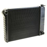 For Chevy Nova 73-74 Dewitts 1239035m Direct Fit Pro-series Aluminum Radiator