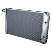 For Chevy Corvette 77-82 Dewitts Direct Fit Pro-series Aluminum Radiator
