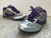 Curves For Women Size 9 Shoes Walking Exercise Weight Loss Silver Purple Health