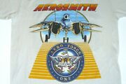 86 Aerosmith Done With Mirrors Concert Tour T-shirt True Vintage New Old Stock