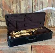 Chateau Cts-80gl Tenor Saxophone Gold Lacquer New Copper Body And Bell New Demo