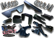5-7 Coils 1 Spindles Cnotch Flip Shackle Lowering Drop Kit For 1973-1987 C10