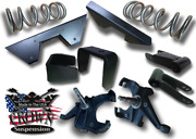 6-6 Drop 1 Spindles Lowering Coils Flip Kit Shackle Cnotch 73-87 C10