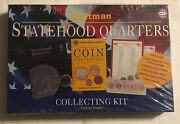 Whitman Statehood Quarters Collecting Kit - Book And Supplies To Get Started - New