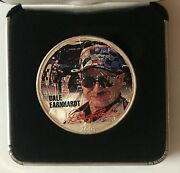 2001 Dale Earnhardt - 1 Ounce American Silver Eagle - Uncirculated  1329