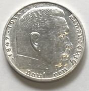 1939-a German 2 Reich Silver Coin L@@k At Pictures 1502