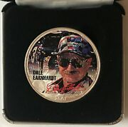 2001 Dale Earnhardt - 1 Ounce American Silver Eagle - Uncirculated  1330