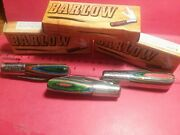 Lot 227 One Barlow 3.5 2-blade Pocket Knife By Rite Edge Multicolored Wood