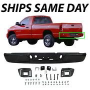 New Primered Black Rear Step Bumper Assembly Replacement For 2002-2008 Dodge Ram