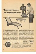 1952 Shopsmith 2 Page Advertisement Magna Engineering Department Cleveland, Ohio