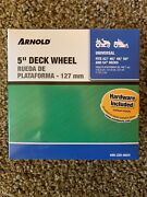 Arnold 5 In. Universal Deck Wheel For Riding Lawn Mowers And Zero Turn Mowers