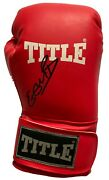 Kell Brook Hand Signed Red Boxing Glove - Boxing Autograph.