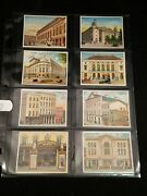 8 Vtg Between The Acts Little Cigars Theaters Old And New Cards Globe Ny Fordand039s