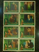 House On Haunted Hill Original Autographed Price Lobby Card Set C8 Very Fine