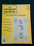 Antiques Journal 1976 Victorian Lamps Moxie Soft Drink Collectibles Coal Grates