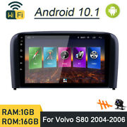 Android 10.1 Car Dvd Player Gps Navi Stereo Radio Wifi For Volvo S80 2004-2006