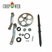 36t Wide Crank Assembly-3pcs For 2 Stroke And 4 Stroke Motor-gas Motorized Bicycle