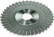 Made In Usa 4 Diam X 5/32 Thick Straight Tooth Side Chip Saw 1-1/4 Arbor H...