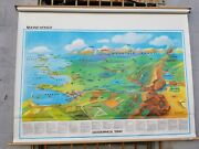Rand Mcnally World Geography Terms Pull-down Classroom Map