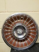 1962 Cadillac Fleetwood Deville Hubcap Wheel Cover Red