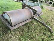 8ft Field Roller Farm Field Seed Cultivate Grass Equine Tractor Cattle