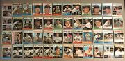 1964 Topps Lot Of 48 Baseball Cards Excellent Condition With Only 4 Duplicate