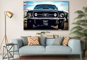 Ford Mustang Classic Wall Decor Home Decoration Canvas Prints Classic Car Art