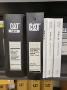 Cat Caterpillar D10t Dozer Service And Parts Manuals New Condition Volume 1and2