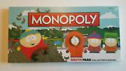 Factory Sealed South Park Monopoly Collectors Edition Rare Oop Out Of Print Vhtf