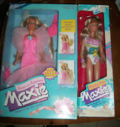 Vintage 1988-1989 Maxie Dolls Beachy Keen And Dance And Romance Maxie Doll Lot