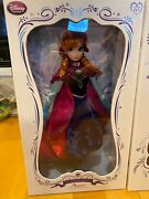 Nib Disney Frozen Snow Winter Outfit 17 17 Inch Anna Limited Edition 5000 Doll