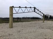 1 40andrsquo Steel Trusses - 10and039 Centers For Pole Barn 20psf