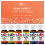 Plant Therapy Essential Oils Kidsafe Starter Set 6 - 10 Ml 100 Pure Undiluted