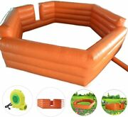 Inflatable Gaga Ball Pit Gagaball Court For Outdoor/indoor Family School-15/20ft