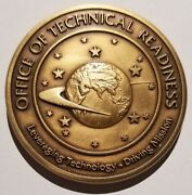 Vhtf Cia Directorate Of Science Andtech Office Of Tech Readiness Trade Craft Coin
