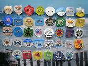 38 Year Collection  Harvey  Cedars,  New Jersey Beach Badges/tags