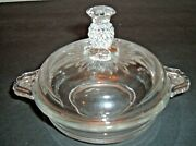 Heisey Plantation Round Butter Dish Pineapple Hospitality
