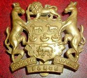 Cap Badges-original Rare 1918-1923 Rhodesian Defence Force Helmet And Cap Badge